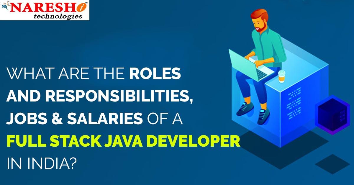 Full stack job, career and salary