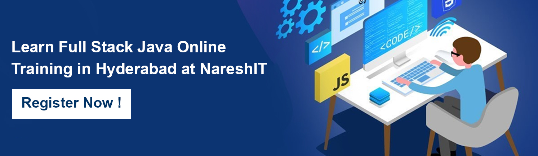 Full Stack Java Online Training in Hyderabad