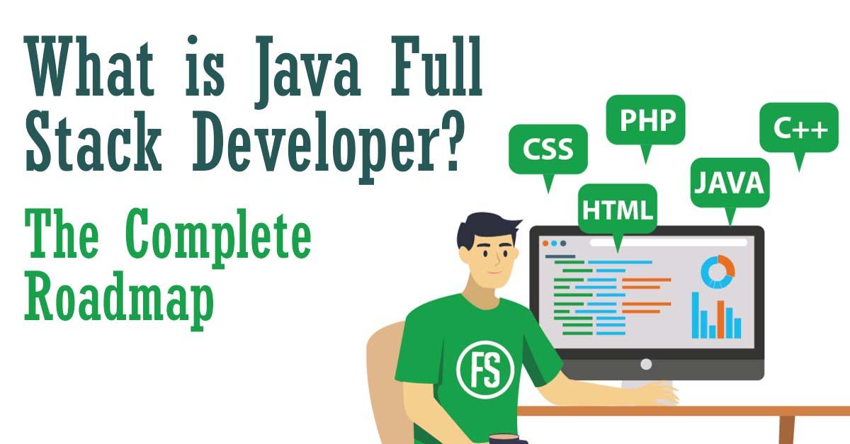 What is full stack java developer